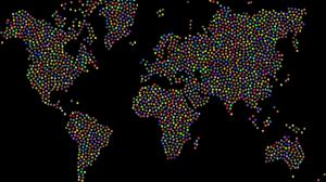 corona virus, map, world